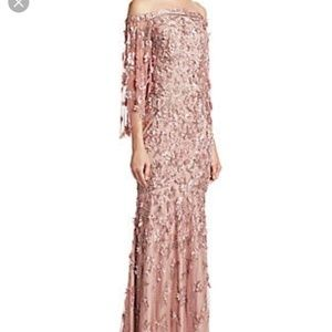 Theia Vintage Rose Dress from Saks Fifth Avenue